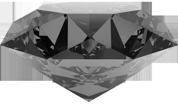 Драгоценный камень темного цвета