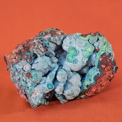 Камень хризоколла.