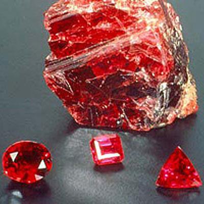 фотография минерала Рубин