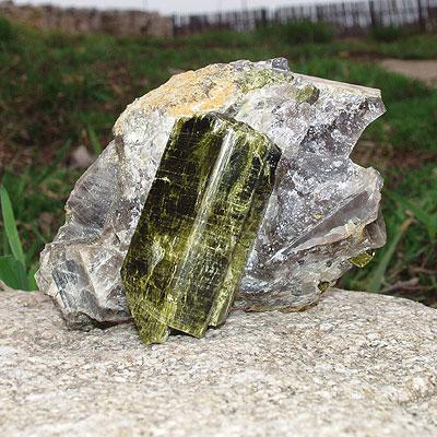 фотография минерала Эпидот