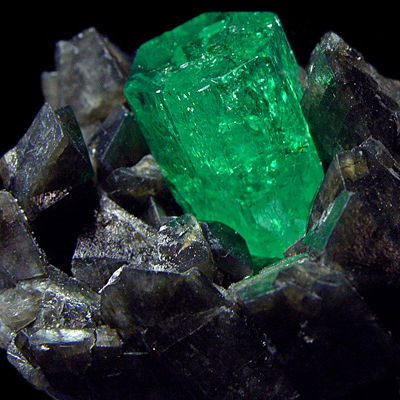 фотография минерала Изумруд
