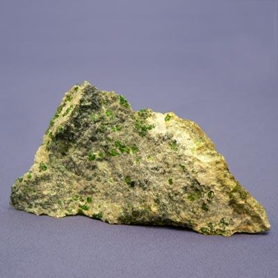 фотография минерала Демантоид