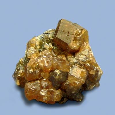 фотография минерала Гессонит