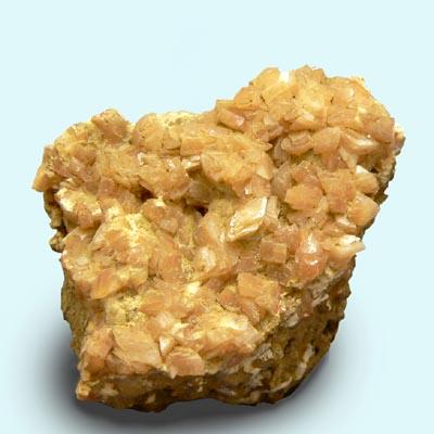 фотография минерала Гейландит