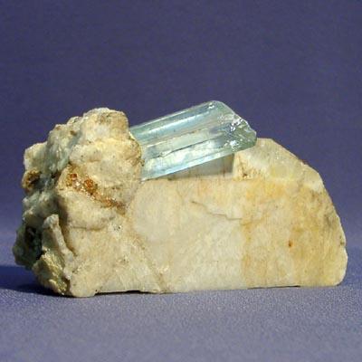 фотография минерала Аквамарин