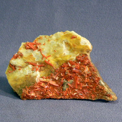 фотография минерала Крокоит