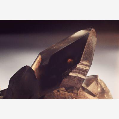 фотография Сросток кристаллов дымчатого кварца