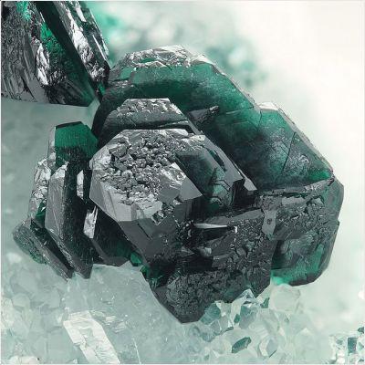 фотография минерала Клиноатакамит