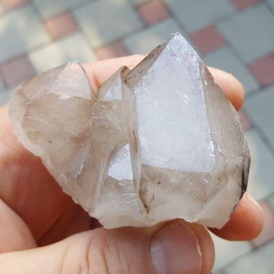фотография Друза кристаллов Кварца дымчатого