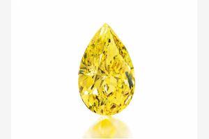 Самый крупный жёлтый алмаз, добытый