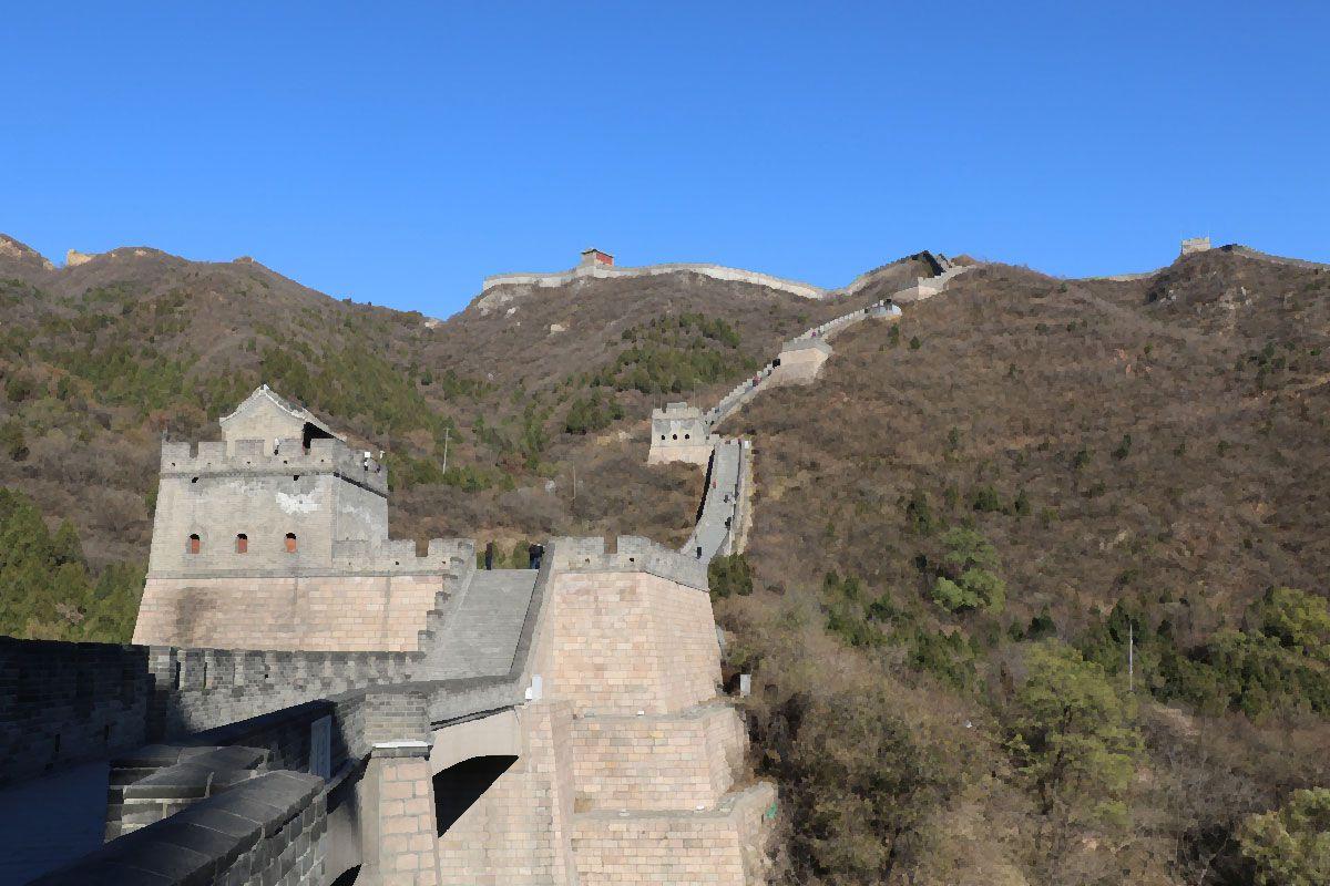 Великая Китайская стена  самое грандиозное строение на Земле