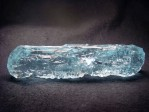 Aquamarine crystal was collected at 70h years from old Ukraine locality - Volyn